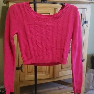 Justice Cropped Sweater